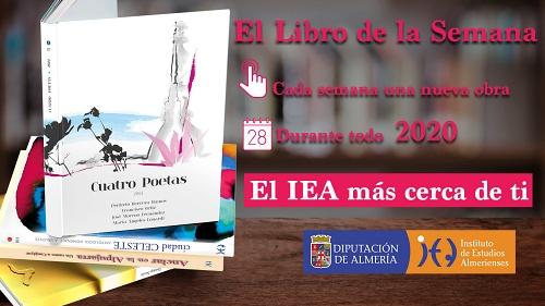Diputación mantendrá el resto del año 'El libro de la semana' del IEA en descarga gratuita