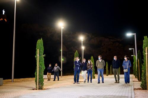 Mejora urbana del entorno de La Alcazaba y La Hoya con iluminación eficiente