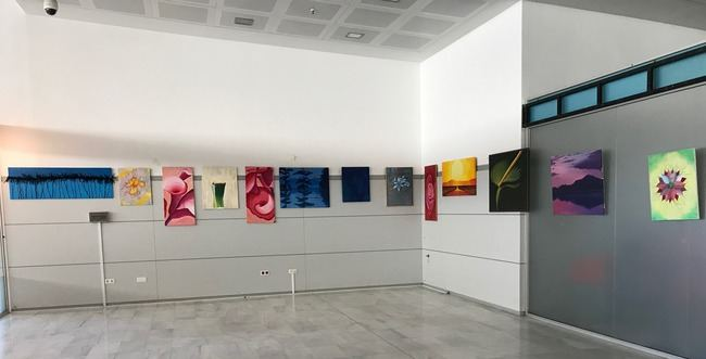 El Aeropuerto de Almería acoge una exposición de la Asociación Indakana
