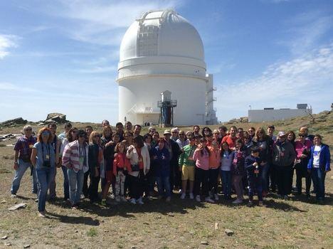 Quinta edición de las jornadas de astroturismo de Amigos de Calar Alto