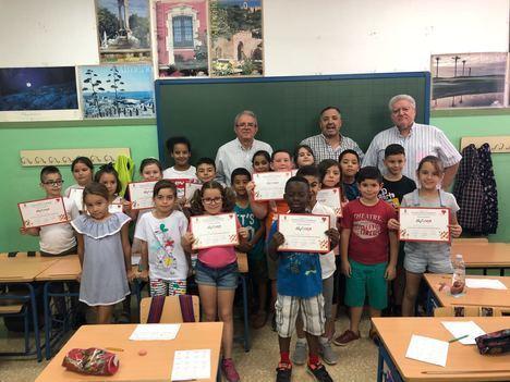 El Centro de Educación Vial de Vícar cierra el curso 2017-2018 con cifra récord de usuarios