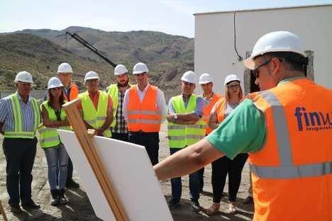 La depuradora de Huércal Overa está al 45% de su construcción