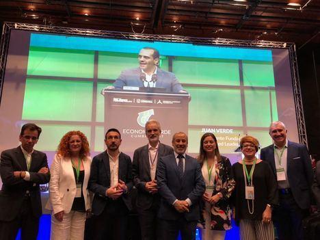 Vera participa en la Primera Cumbre sobre Economía Circular e Innovación con la presencia de Obama y cuatro premios Nobel