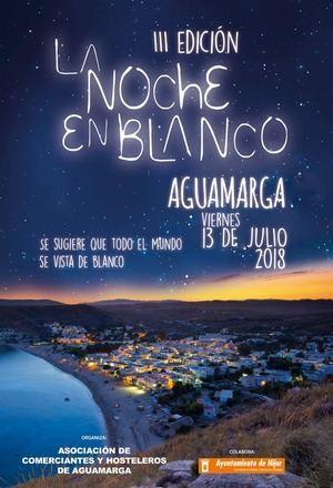 Charanga, concierto de Zarrita y precios especiales, para la Noche en Blanco de Aguamarga