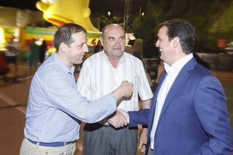 Javier A. García pregona las fiestas de Sierro en honor a San Sebastián