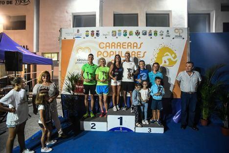 Más de 270 participantes participan en Tíjola en el Circuito de Carreras Populares