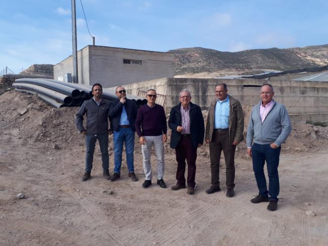 Ayuntamiento De Vícar Y Sol Y Arena Acometen Las Obras Para Una Nueva Toma De Agua De La Desaladora