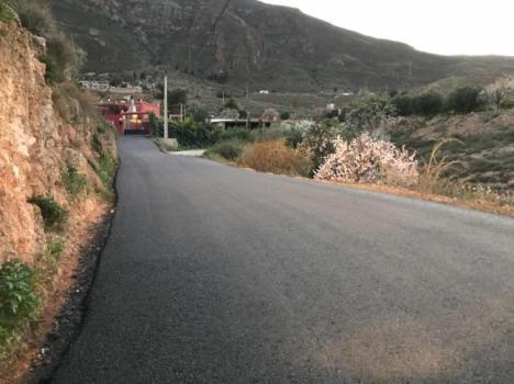 Diputación culmina las obras del Plan de Caminos en el municipio de Íllar