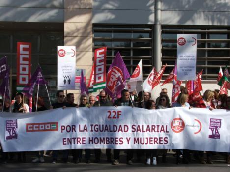Sindicatos contra la brecha salarial ante Asempal