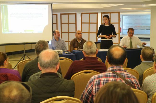 Curso sobre control y gestión de ayudas FEADER en Almería