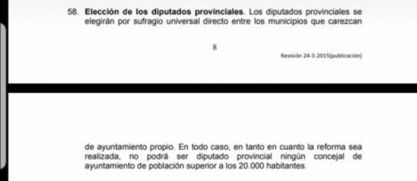 Vox incumple sus propias normas en la elección de diputados provinciales en Almería