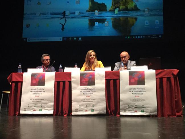 Clausura la Jornada Provincial de actualización en asistencia al Ictus