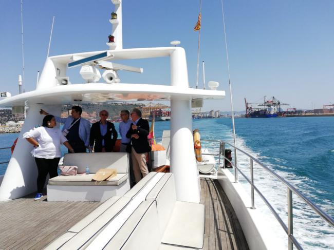 Caicedo pone en valor los puertos de Almería y Carboneras en el Salón de la Logística de Barcelona