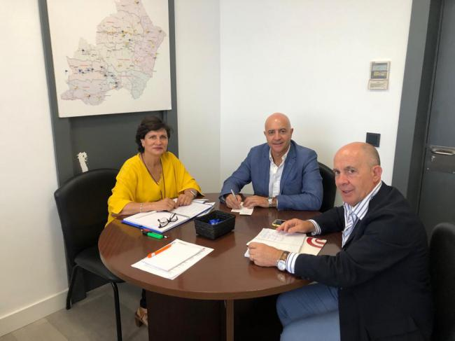 Diputación y Cámara de Comercio afianzan su colaboración con una nueva hoja de ruta