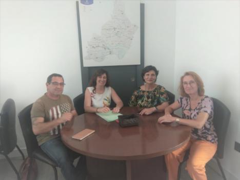 Diputación y Alboloduy trazan la hoja de ruta para fomentar el desarrollo económico