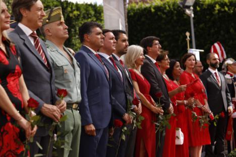 La Diputación rinde homenaje a 'Los Coloraos'