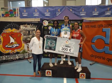 El Circuito de Baloncesto 3x3 'Costa de Almería' finaliza en Dalías