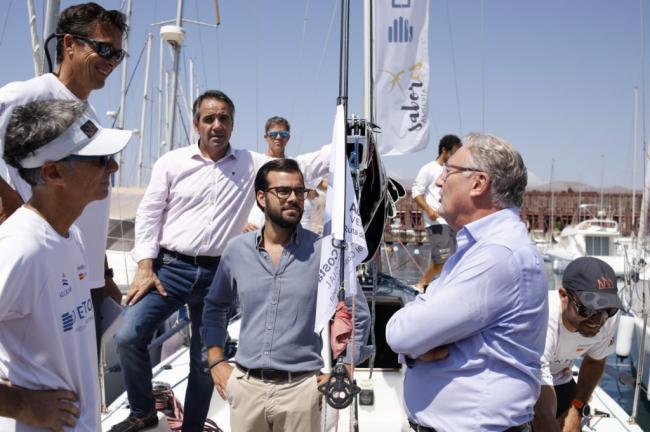 Inicio de la XII Regata 'Ruta del Coral. Costa de Almería'