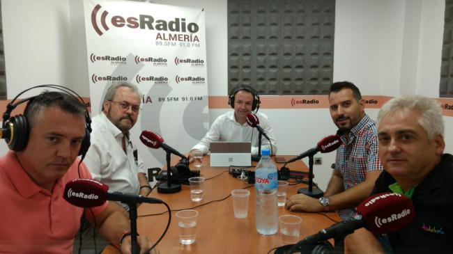 Martos se suma a la tertulia de esRadio en Almería