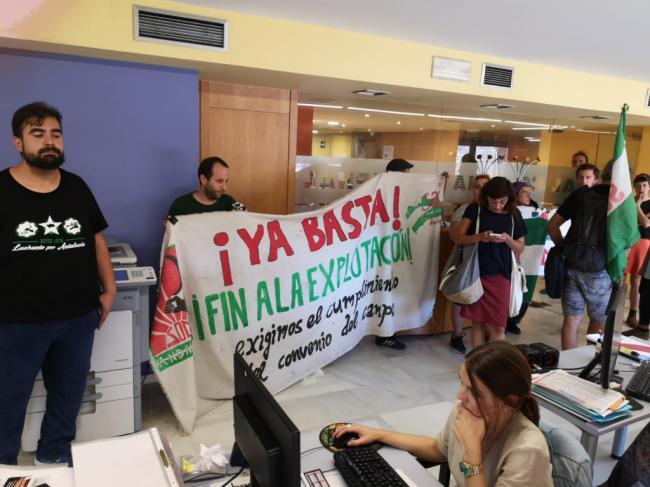 Problemas en la huelga del Grupo Godoy
