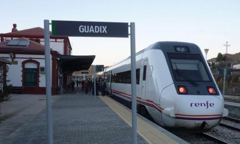 Comarca de Guadix por el Tren denuncia la situación de la línea Almería-Granada-Sevilla
