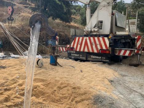 Diputación mejora las redes hídricas en Fines y Viator