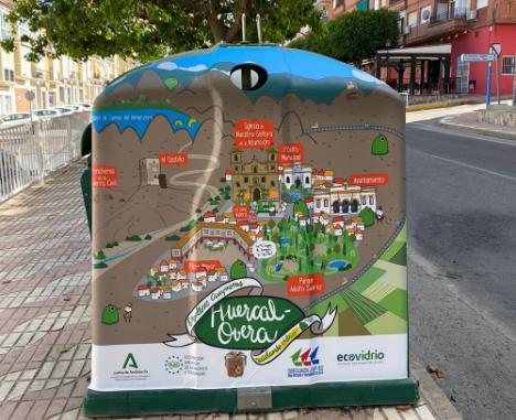 Huércal-Overa, premiado por superar el Reto Mapamundi de reciclaje de vidrio