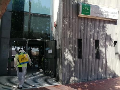El Ayuntamiento de Almería invierte cerca de 2.000 euros diarios desinfección contra el #COVID