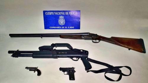 La Policía Nacional ha desmantelado un narcobloque en el centro de El Ejido