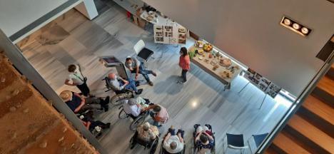 El Museo de Almería celebra un taller de cultura andalusí con la residencia 'El Zapillo'