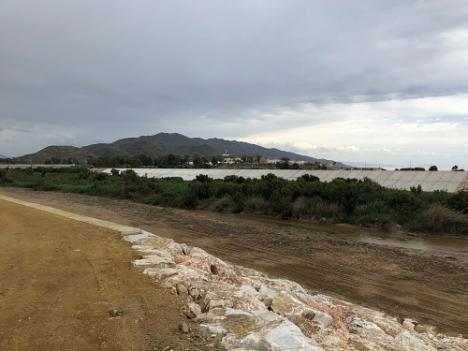 Finaliza la rehabilitación de la desembocadura del río Almanzora entre Villaricos y Palomares