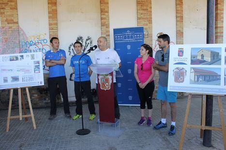 Vecinos y turistas disfrutarán de la antigua estación de tren de Huércal-Overa en el 2019