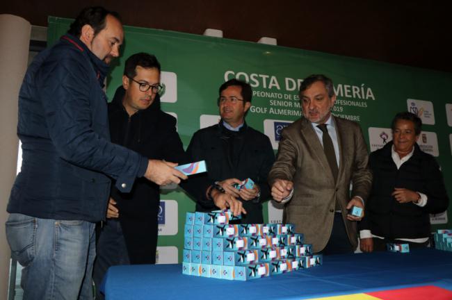 Arranca en Almerimar el Campeonato de Golf de España Senior 'Costa de Almería'