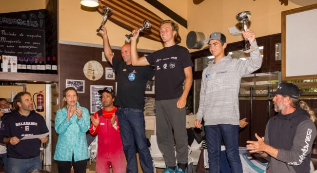 Entrega de premios del Camponato de Windsurf de Culoperro