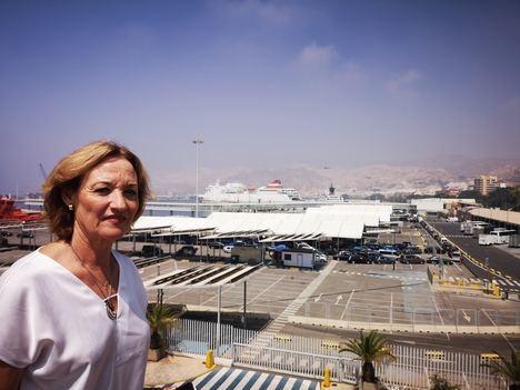 El Puerto de Almería incrementa un 22,8% el tráfico de mercancías y un 2,9% el de pasajeros