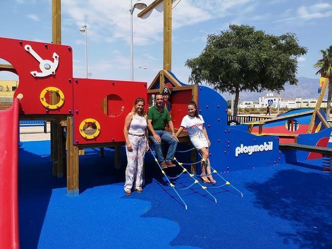 La Mojonera pone en servicio el primer parque Playmobil de Andalucía