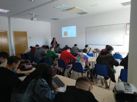 La Escuela Agraria Vícar participa en Los Talleres De 'Ciudades Ante Las Drogas'
