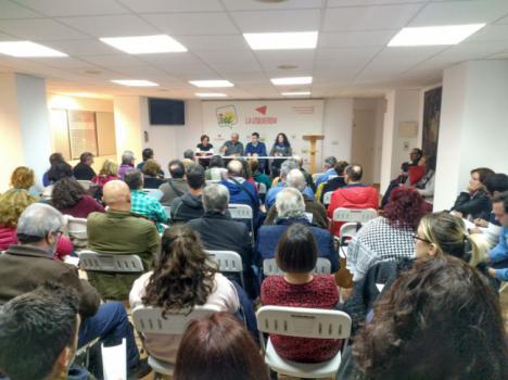 La Asamblea de Izquierda Unida Almería ratifica a Amalia Román portavoz de IU en el Ayuntamiento