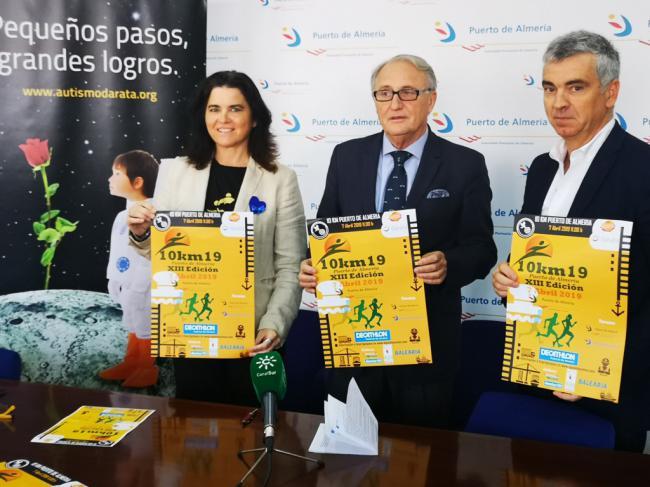 '10 Km del Puerto de Almería', una carrera para concienciar sobre el autismo
