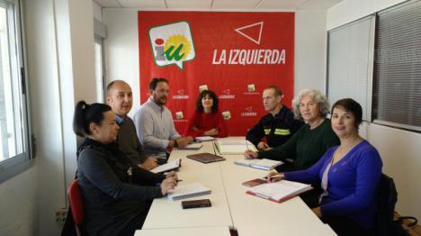 IU insta a Diputación a mejorar la gestión del Consorcio de Bomberos del Poniente