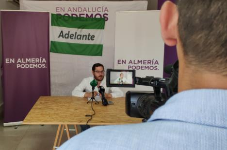 Adelante Andalucía contra los presupuestos de la Junta