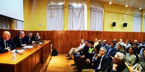 Caicedo destaca la contribución de los amarradores a la seguridad marítima