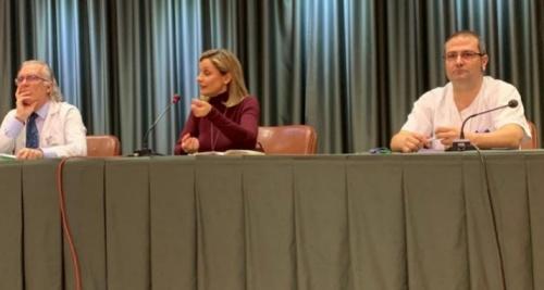 La delegada del Gobierno anima a los profesionales de Torrecárdenas