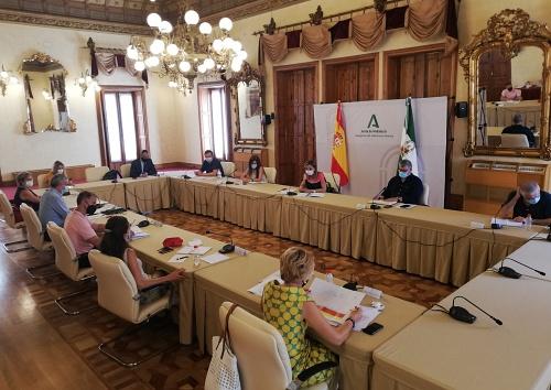 La vuelta al colegio y el COVID19 centran la primera reunión de este curso de los delegados en Almería