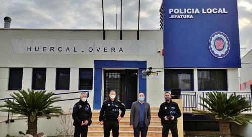 La Policía Local de Huércal-Overa incorpora un dron
