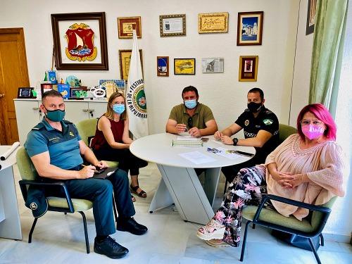 Comisión de seguimiento y desarrollo del Sistema Viogen en Dalías