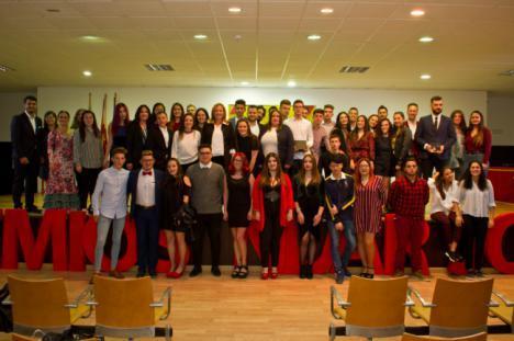 El Ayuntamiento distingue en una gala a nuevos talentos con los I Premios Níjar Joven