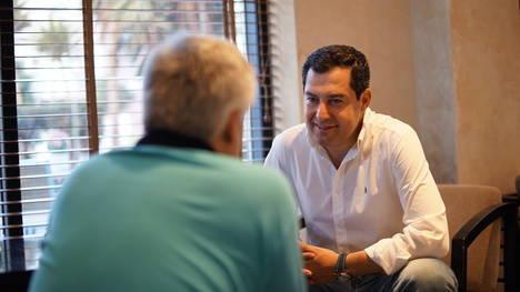 """Moreno Bonilla: """"La imagen de Susana Díaz se va a erosionar muchísimo en Andalucía y también en Madrid"""""""