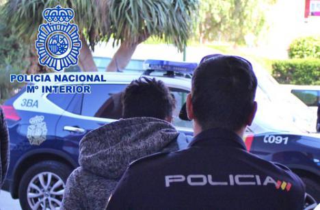 Detenido el ladrón del Km 21 de la Carretera de Níjar