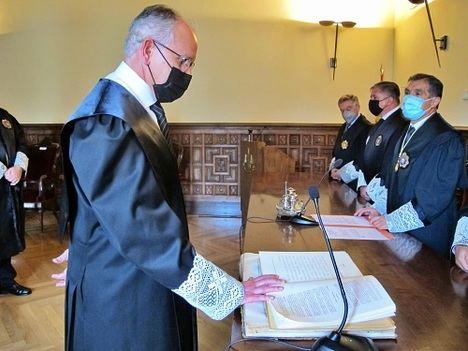 Columna toma posesión como Presidente de la Audiencia Provincial de Almería
